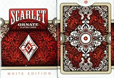 Scarlet ORNATE playing cards Brand New Deck