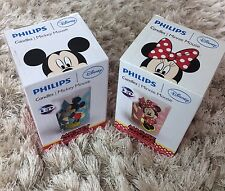 Phillips Disney LED Magic Candles Mickey Minnie Mouse Bundle Gift Night Lights