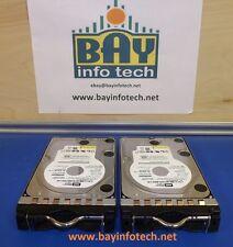 WD500AAKS 500GB x 2:1TB Western Digital 7200RPM Hard Drive With Bracket Lot Of 2
