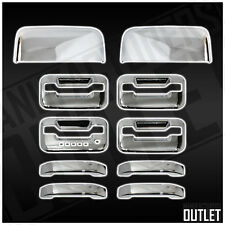 2004-2008 Ford F-150 Super Crew Cab 4dr Door Handles Mirror Cover Trim