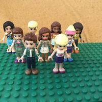 9 Lego Friends Mini Figures Minifigures Mini Doll Bundle Collection Lot (3)