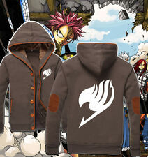 Hot Anime Fairy Tail Guild Emblem Casual Jacket Sweatshirt Unisex Coat Hoodie