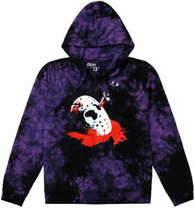 Friday the 13th: The Final Chapter Poster Tie-Dye Juniors Plus Size Hoodie