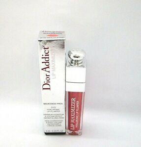 Christian Dior Addict Lip Maximizer Hyaluronic Lip Plumper ~ 010 Holo Pink ~