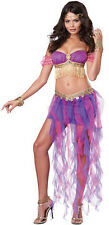 Pink & Purple Belly Dancer Sexy Adult Costume Small 6-8