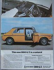 1969 Austin 1300 GT Original advert