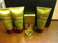 Venezia by Laura Biagiotti Edt Splash 5 ml+Beauty Bath+Shower Gel+Body Cream 1.7
