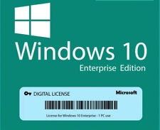 Windows 10 Entreprise/EntrepriseN/EntrepriseS 32/64 bit Lifetime Key Delivery 🔥