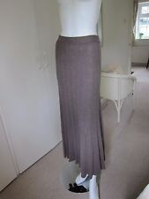 BNWT Lovely Monsoon Chocolate Brown Wool Blend knitted skirt Size S RRP £55.00