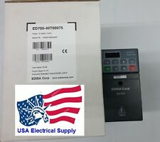 New 40T0075 AC Driver Input 3 PH 48/62 Hz.380-480VAC, Output 3 PH  1 HP 0-300Hz