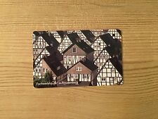 PHONECARD PHONE CARD TELEFONKARTE USED GERMANY TIMBER HOUSES FREUDENBERG