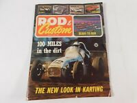 Vintage  Original January 1966 Hot Rod Magazine Automotive Custom Car Mods