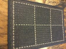 New Oriental Weavers Checked Flatweave Anti Slip Kitchen/door Mat 60x 40cm NEW