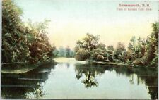 Early 1900s Salmon Falls River, Somersworth, NH postcard