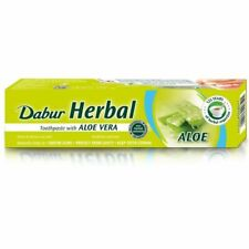 DABUR HERBAL DENTIFRICIO ALOE VERA  100 ml - Fluoride Free