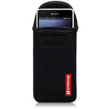 Shocksock Neopreno NEGRO Funda para Sony Experia Z1 Compacto