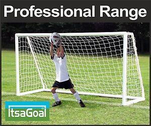8x4 Football Goalposts Multi Surface BEST QUALITY