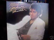 Michael Jackson LP Thriller PROMO with fan club insert