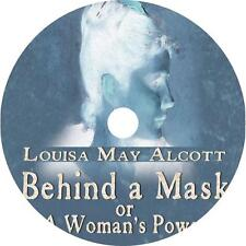 Behind a Mask, or a Woman's Power Audiobook by Louisa May Alcott on 1 MP3 CD