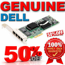 Original Dell Adaptador Intel PRO/1000 VT Pci-e NIC 4 Puertos Gigabit Server Adapter yt674