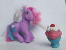 My Little Pony G1 Soda Sippin' Strawberry Scoops w/Soda