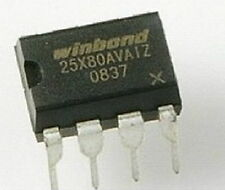 W25X80AVAIZ [25X80VAIZ] winbond bios chip ic DIP-8 8pins