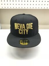 New Era Japan Sendai Neva Die City Brand New Unworn 59fifty 7 1/2 Cassette Punch
