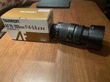 Tamron AF 70-300mm f/4-5.6 Di LD Macro Zoom Telephoto Autofocus Lens For Nikon