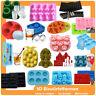 3D Eiswürfelform Silikon Eiswürfel Party Eis Würfel Shot Kinder Party Geburtstag