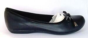 Safe T Step ladies Slip on Comfort Bow Flats shoes Size 6, UK 4, EUR 37, 23.1cm