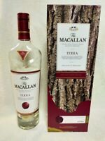 Empty Macallan Terra Duty free Limited Whiskey Bottle From Japan Rare With Box