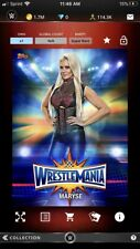 Topps WWE Slam *Digital* 2017 Wrestlemania Blue Base Super Rare - Maryse