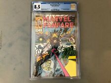 Marvel Fanfare #11-Cgc 8.5-Black Widow story!