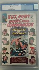 Sgt. Fury And His Howling Commandos #18 CGC NM+ 9.6