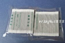 1000 Mini Round Gun Tip Double Point Cleaning Cotton Swab for printer (15-002)