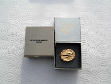 AVON SPONSORSHIP AWARD TAC PIN AWARD 1986-1988--1/10K gold filled