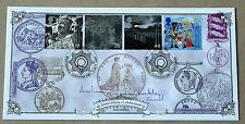 SOLDIERS' TALE 1999 BRADBURY FDC WHITEHALL H/S SIGNED BY GENERAL FARRAR-HOCKLEY