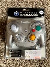 Official Nintendo Gamecube Wavebird Wireless Controller Platinum BRAND NEW