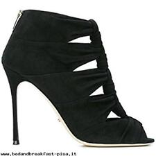 Sergio Rossi 'Devine' knotted cutout, booties,NWOB Retail  $970 SZ 40 US 10