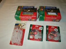 Lot of CHRISTMAS LIGHTS MOUNTING CLIPS Several Styles