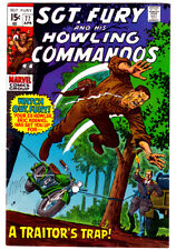 SGT. FURY AND HIS HOWLING COMMANDOS #77 in VF a 1970 Marvel comic NICK FURY