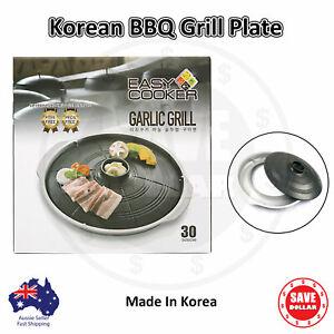 Portable Korean BBQ Grill Non Stick Coating Butane Gas Stove Pan Plate Cauldron