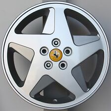 "CERCHIO FERRARI F348 ORIGINALE 9 x 17 "" OFFSET 43,05 RIGHT 156242"