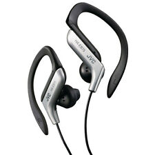 JVC HA-EB75 Sports Stereo Earphones In Ear Headphones - Silver New Uk For Music