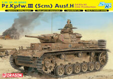 Dragon 6642	1/35 Pz. Kpfw.III (5cm) Ausf. H Sd.Kfz.141 Late Production