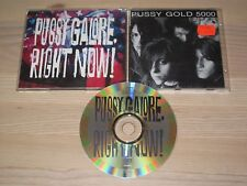 Pussy Galore CD - Right Now Cdprod 19 In VG