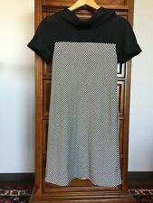 SPORTMAX by Max Mara Dress Sz S Black White with Back Zipper $149 or Best Offer