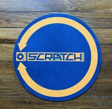 Scratch (Hip Hop Dj film) Rare promo turntable mat 2001