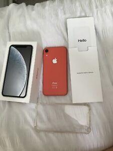 Apple iPhone XR 64GB Smartphone - Coral (Vodaphone)