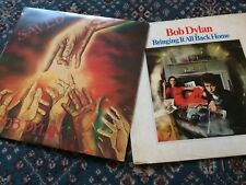 BOB DYLAN ‎- SAVED LP) (EX - A1/B3 &  Bring It All Back Home EX - A1/B1